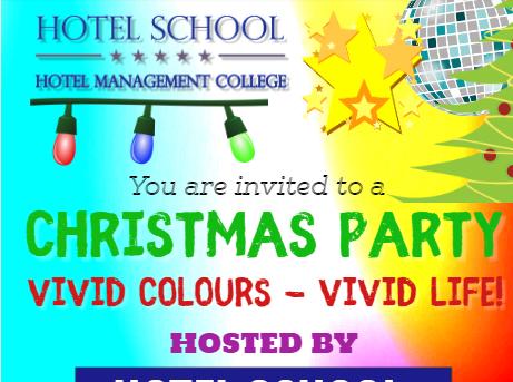 """Ziemassvētku pasākums """"Vivid Colours – Vivid Life!"""""""