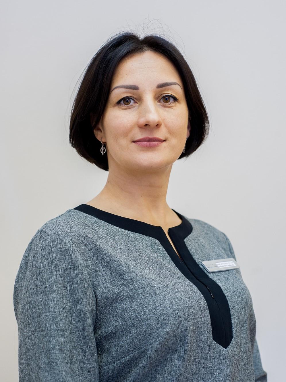 Jekaterina Sadovaja, Head of Student Service